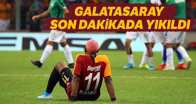 Galatasaray Konyaspor maçı kaç kaç bitti?   Galatasaray Konyaspor maçı maçtan dakikalar