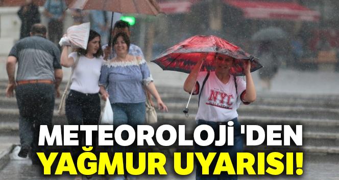 Meteoroloji 'den yağmur uyarısı |Bugün hava nasıl olacak? 15 Ağustos 2019