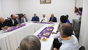 Başkan ERBEŞ dan Cemvine Ziyaret