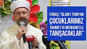 Erbaş,2019-2020 Eğitim-Öğretim Yılı Açılış Programı'na katıldı.