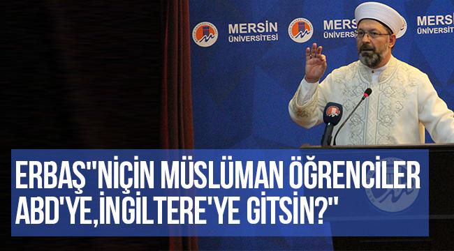 ERBAŞ İslami İlimler Fakültesinin yeni eğitim-öğretim yılının açılışına katıldı.