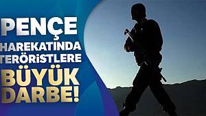 Pençe Harekatında 5 PKK'lı terörist daha etkisiz hale getirildi