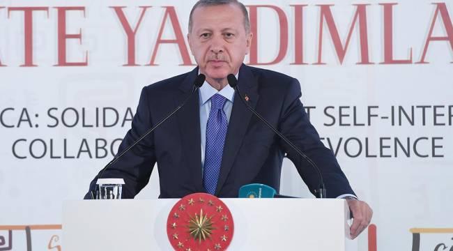 Cumhurbaşkanı Erdoğan Müslüman Dini Liderler Zirvesi'ne katıldı.