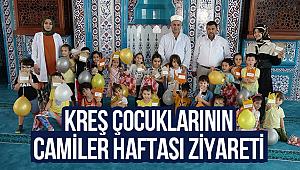 Kreş Çocuklarının Camiler Haftası Ziyareti