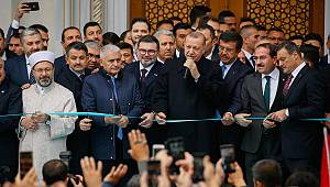 Bilal Saygılı Camii ve Külliyesi dualarla açıldı