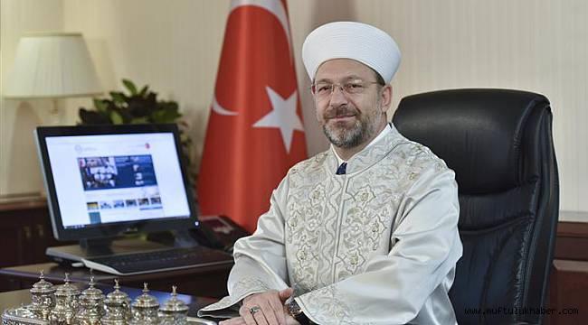 Diyanet İşleri Başkanı Erbaş'ın Mevlid Kandili mesajı