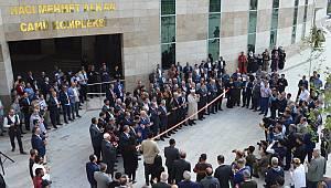 MKÜ'de 7 bin kişilik cami ibadete açıldı
