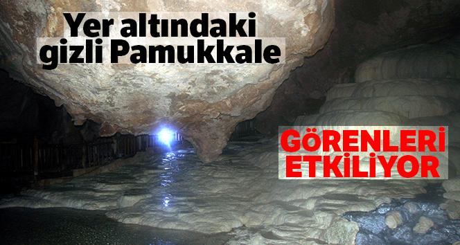 Yer altındaki gizli Pamukkale: Kaklık Mağarası