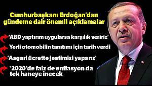 Cumhurbaşkanı Erdoğan: 'Bizim de yaptırımlarımız olacaktır'