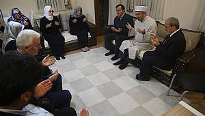 Başkan ERBAŞ dan Taziye Ziyareti