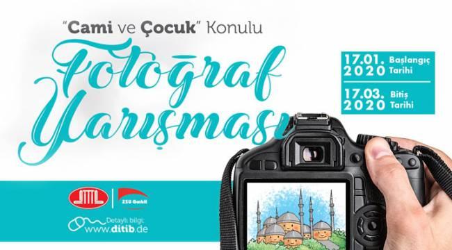 """DİTİB'den """"Cami ve Çocuk"""" konulu fotoğraf yarışması"""