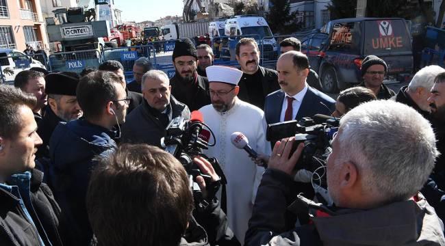 Diyanet İşleri Başkanı Erbaş, Elazığ'da
