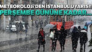 İstanbul'da yeni haftada hava yağışlı