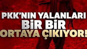 PKK'nın yangın yalanı ortaya çıktı