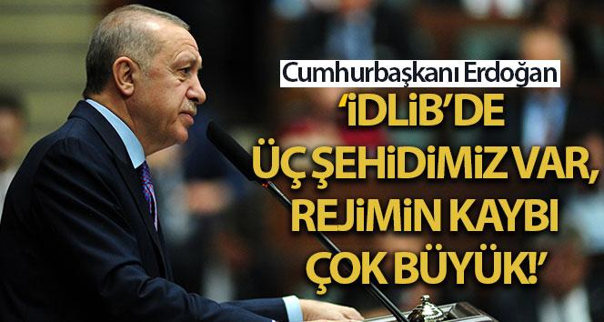 Cumhurbaşkanı Erdoğan: 'Bay Kemal'in ağzından bazı şeyler çıkıyor, geliyorlarmış'