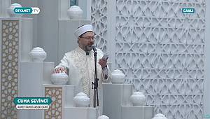 Erbaş Ahmet Hamdi Akseki Camii'nde hutbe irad etti