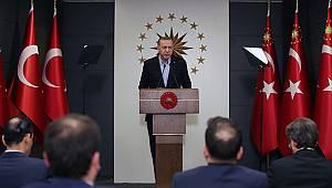 Erdoğan: 'Milli Dayanışma Kampanyası başlatıyoruz'