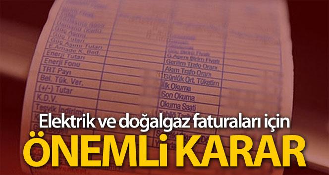 EPDK'dan flaş karar: Sayaçlar 3 ay boyunca okunmayacak