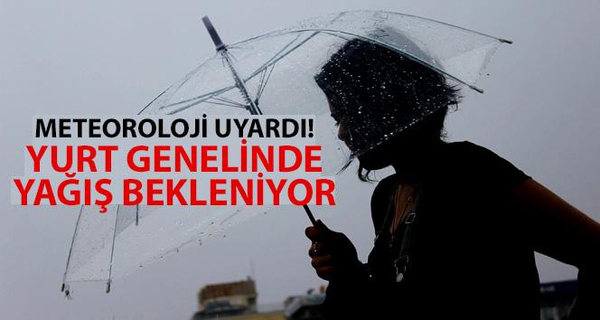 Meteoroloji uyardı! Yurt genelinde yağış bekleniyor