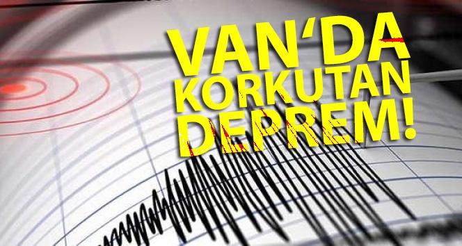 Van'ın Tuşba ilçesinde 4,7 büyüklüğünde deprem meydana geldi