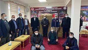 Din Görevlileri Derneği'nden 250 aileye gıda yardımı