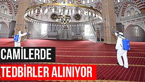 Konya'da camilerde hazırlıklar tamamlandı