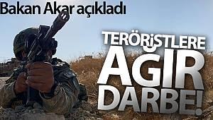 Milli Savunma Bakanı Akar: '1 Ocak'tan itibaren Irak'ın, Suriye'nin kuzeyinde 1458 terörist etkisiz hale getirildi'