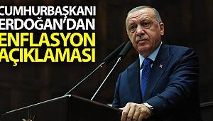 Cumhurbaşkanı Erdoğan'dan enflasyon açıklaması!