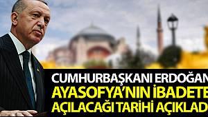 Cumhurbaşkanı Erdoğan'dan önemli Ayasofya açıklamaları