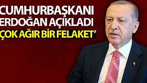 Cumhurbaşkanı Erdoğan'dan Giresun'daki sel felaketine ilişkin açıklama