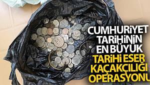 İzmir'de Cumhuriyet tarihinin en büyük tarihi eser kaçakçılığı operasyonu