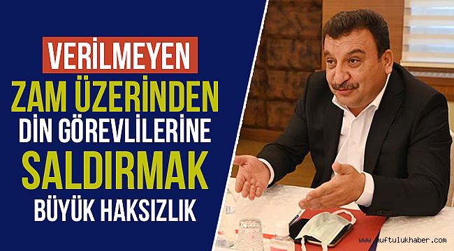 Genel Başkan Güldemirden Sert Açıklama