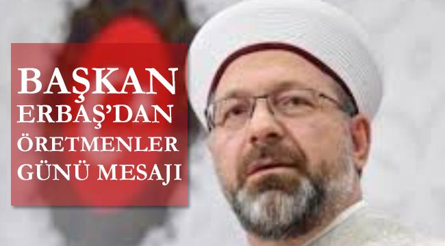 ERBAŞ,24 Kasım Öğretmenler Günü'nü kutladı