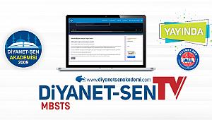Diyanet-Sen TV MBSTS Online Hazırlık Kursu ile Yayında
