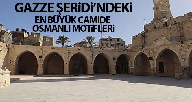 Gazze Şeridi'nin en büyük camisini Osmanlı motifleri süslüyor