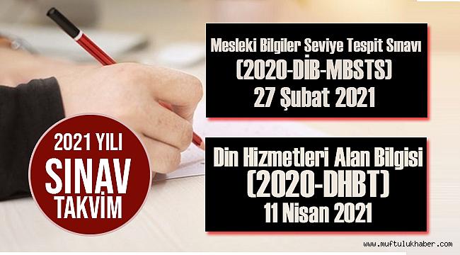 ÖSYM Başkanı Aygün, 2021 yılı sınav takviminin açıklandığını duyurdu