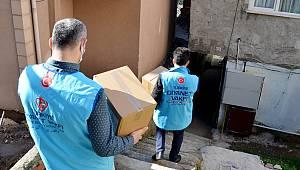İstanbul'da ihtiyaç sahibi ailelere hijyen paketi