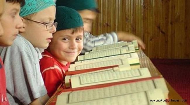 Kur'an Kurslarında 2. Dönem Eğitimler başlıyor