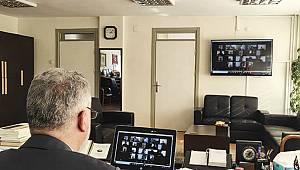 Manevi Destek Koordinatörlerinden Çevrimiçi Toplantı