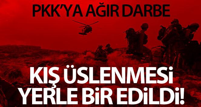 PKK'nın kış üstlenmesine ağır darbe