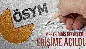 2021-DİB-MBSTS Giriş Belgeleri Erişime Açıldı