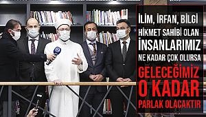 Başkan ERBAŞ Şehit Şenay Aybüke Yalçın İl Halk Kütüphanesini ziyaret etti.