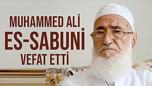 İslam âlimi Muhammed Ali Es-Sabuni, Vefat etti.