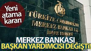 TCMB Başkan Yardımcısı Mustafa Duman oldu
