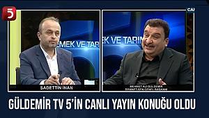 Güldemir TV 5'in Canlı Yayın Konuğu Oldu