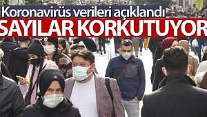 Son 24 saatte korona virüsten 186 kişi hayatını kaybetti