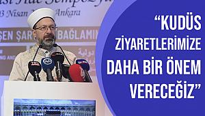 'Uluslararası Hac Sempozyumu' Ankara'da başladı