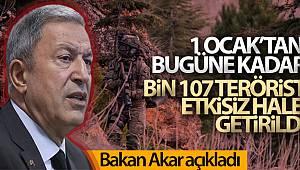 Bakan Akar TCG Anadolu'da incelemelerde bulundu.