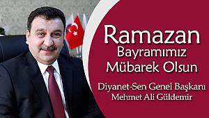 Başkan GÜLDEMİR'den Ramazan Bayramı Mesajı