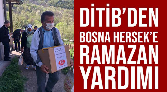 DİTİB'den Bosna Hersek'e ramazan yardımı